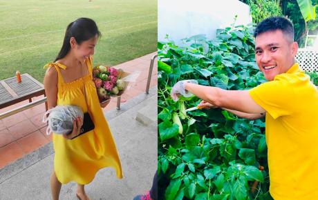 Rao bán dưa sạch nhà trồng, Công Vinh khiến fans cười ngặt nghẽo vì hét giá... trên trời