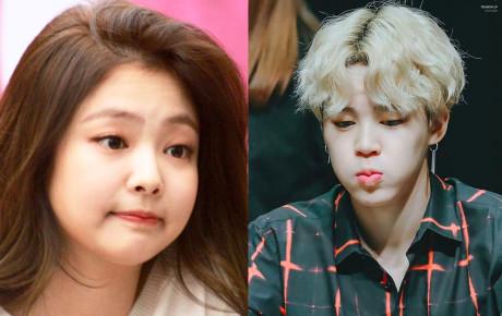 """Biệt danh """"có 1-0-2"""" của idol Kpop: Jennie bánh bao, Jimin bánh gạo dẻo"""