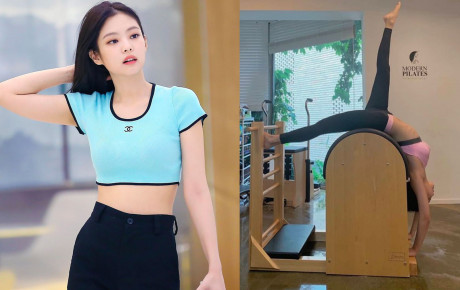 """Đăng 2 bức ảnh đơn giản, Jennie (BLACKPINK) """"khoe khéo"""" bí quyết có được body 0% mỡ thừa nổi tiếng"""