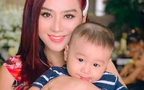 Lâm Khánh Chi xinh đẹp khoe ảnh con trai cưng, fan khen hết lời