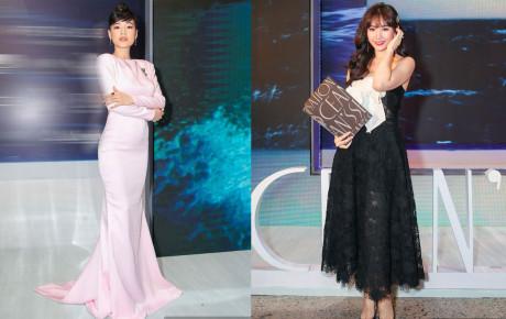 Bỏ quên ông xã, Hari Won, Nhã Phương mặc gợi cảm đua nhau 'chặt đẹp' ở show thời trang