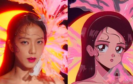Fan 'đứng ngồi không yên' với bộ hình anime cực chất lấy cảm hứng từ BLACKPINK và Kill This Love