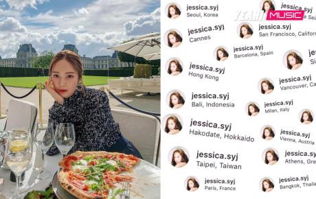 Jessica bay như chim và check in ở toàn nơi đáng ghen tỵ: Chị giàu mà mấy đứa!