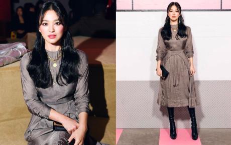 """Song Hye Kyo ngày thoát xác: Ảnh """"sương sương"""" thì đẹp mê hồn, sao hình chuẩn thì lạ quá này!"""
