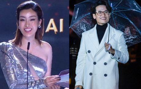 Hoa hậu Đỗ Mỹ Linh nhầm lẫn tai hại, dõng dạc gọi Hà Anh Tuấn là nữ ca sĩ trên sóng trực tiếp