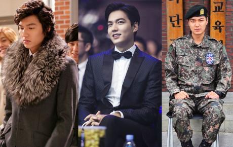 """10 năm lột xác ngoại hình của Lee Min Ho: Từ nam thần """"Vườn sao băng"""" thành tài tử với loạt màn tăng cân gây sốc"""