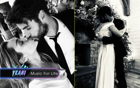 """Miley Cyrus tung loạt ảnh cưới """"tình bể bình"""", xác nhận kết hôn với Liam Hemsworth"""