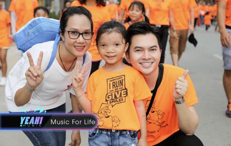Nam Cường và hơn 100 nghệ sĩ Việt chạy bộ vì nụ cười trẻ em khuyết tật