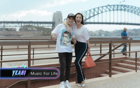 """Ưng Hoàng Phúc hạnh phúc bên bà xã Kim Cương đi """"tuần trăng mật"""" tại Úc sau đám cưới đẹp như mơ"""