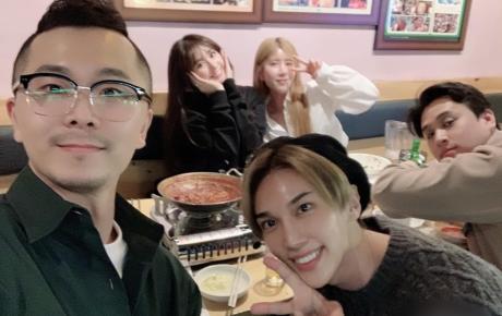 Không có Trấn Thành ở bên, Hari Won đi chơi cùng trai đẹp SS501