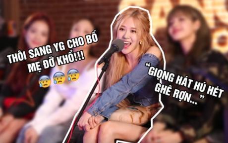 """Ai mà ngờ được lý do Rosé thi vào YG là vì... """"bố mẹ quá mệt mỏi khi nghe giọng hát hú hét ghê rợn của con gái"""""""