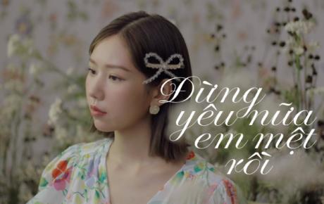 """Min tung ca khúc về cuộc tình dang dở đầy day dứt với loạt ca từ cực """"thấm"""" về tình yêu"""