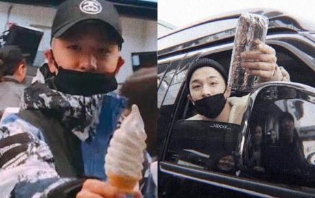 Có một idol có tâm như Taeyang: Lấy đồ ăn của đồng đội để chia cho fan