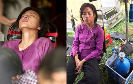 """Vất vả như Ngô Thanh Vân trên phim trường """"Hai Phượng"""": Bệnh mà không dám đi bệnh viện, phải thở bình oxy cho đỡ tốn chi phí"""
