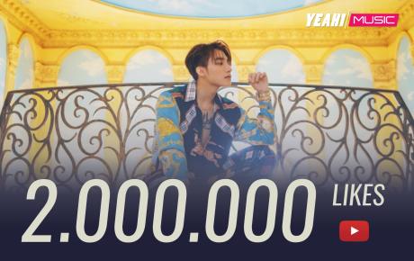 """Kỷ lục mới của MV """"Hãy trao cho anh"""": Cán mốc 2 triệu like, trở thành MV Vpop được like nhiều nhất lịch sử"""