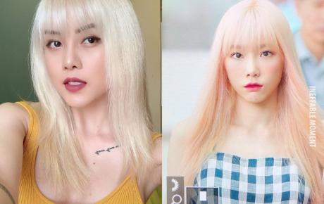 Taeyeon tái xuất với mái tóc hồng, người hâm mộ Việt lại gọi tên Thiều Bảo Trâm