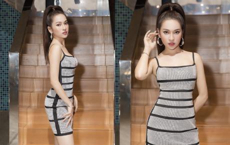 Bà xã Dương Khắc Linh diện đầm bó sát, pose dáng đủ các góc, đập tan nghi vấn mang thai