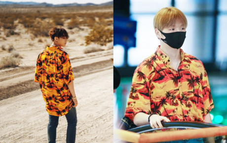 """Không chỉ đụng hàng Mino, Sơn Tùng M-TP còn có khoảnh khắc diện đồ đôi với Kang Daniel trong """"Hãy trao cho anh"""""""