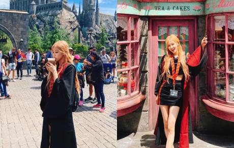 Rosé khoác áo choàng Harry Potter mà vẫn quyến rũ và thần thái khiến fan ngỡ ngàng