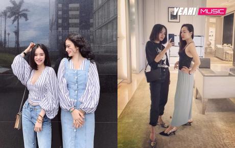 Đâu là cặp chị em có gu thời trang 'chất' nhất showbiz Việt?