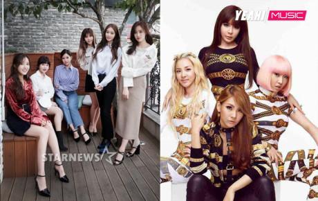 """Sau tất cả, """"huyền thoại"""" T- Ara và 2NE1 vẫn giữ vững vị trí này trong lòng người yêu âm nhạc"""