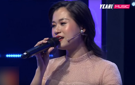 """Không """"lầy"""" nữa, Lâm Vỹ Dạ khoe giọng ngọt ngào qua hit của Mỹ Tâm"""