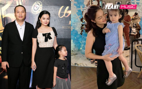 Mấy ai chia tay vẫn êm đẹp như Phạm Quỳnh Anh - Quang Huy: Hai gia đình tề tựu đông đủ mừng sinh nhật con gái
