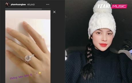 Ngày lễ Valentine, Hoa hậu Phạm Hương được bạn trai đại gia cầu hôn bằng nhẫn kim cương