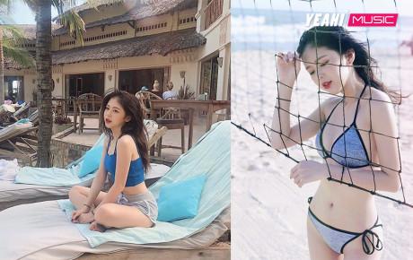 """""""Bạn gái tin đồn"""" của Trịnh Thăng Bình: Khuôn mặt thiên sứ với đường cong hoàn hảo"""