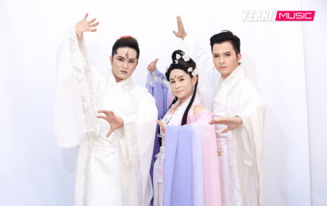 Khưu Huy Vũ và Nam Cường giống y đúc như anh em sinh đôi làm giám khảo Cẩm Ly bối rối