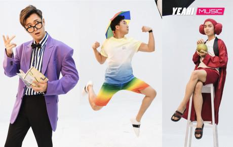 Hậu trường chụp poster của dàn cast Running Man phiên bản Việt