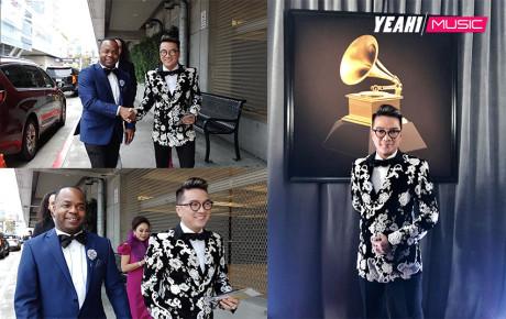 Đàm Vĩnh Hưng diện suit bảnh bao, tham dự Grammy lần thứ 61