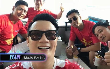 Hoàng Bách, Only C cùng nghệ sĩ Vbiz lên đường đến Indonesia tiếp lửa cho tuyển Việt Nam trong trận gặp Hàn Quốc