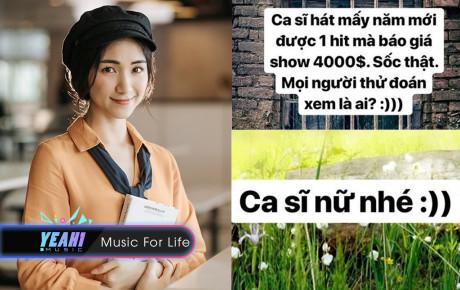 """Tranh cãi nghi vấn Hòa Minzy """"hét giá"""" cát-xê 4.000 USD: Không mời được thì """"bóc phốt""""?"""
