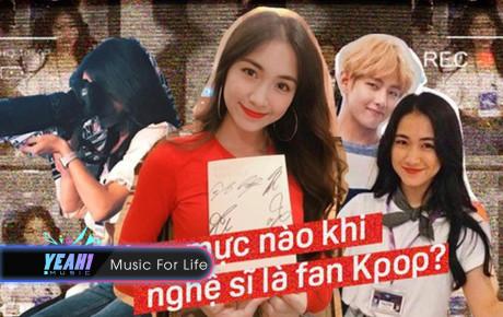 """Từ chuyện Hoà Minzy bị """"ném đá"""" vì vào tận hậu trường theo BTS: Không phải sao Việt mến chung thần tượng thì được ưu ái!"""