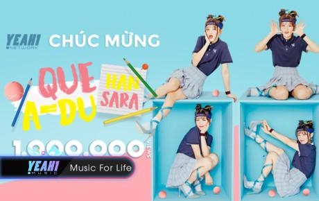 """Han Sara – """"học trò cưng"""" Đông Nhi lại lập kỷ lục 1 triệu view cho MV mới trong thời gian ngắn"""